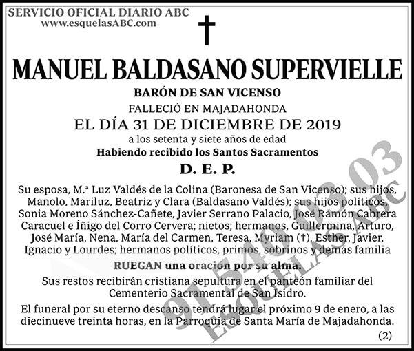 Manuel Baldasano Supervielle