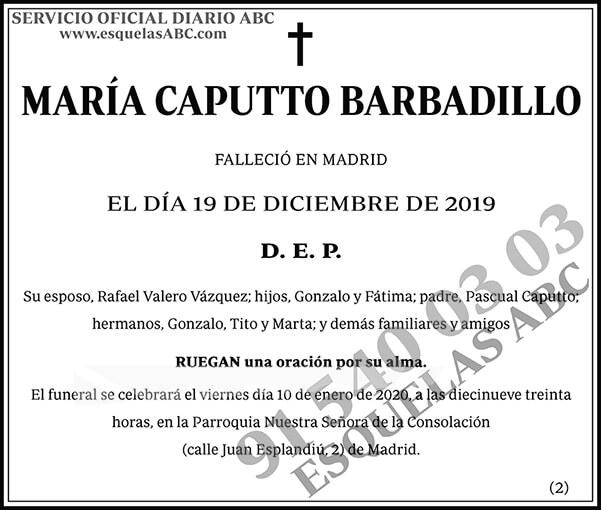 María Caputto Barbadillo