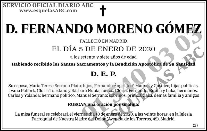 Fernando Moreno Gómez