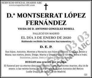 Montserrat López Fernández