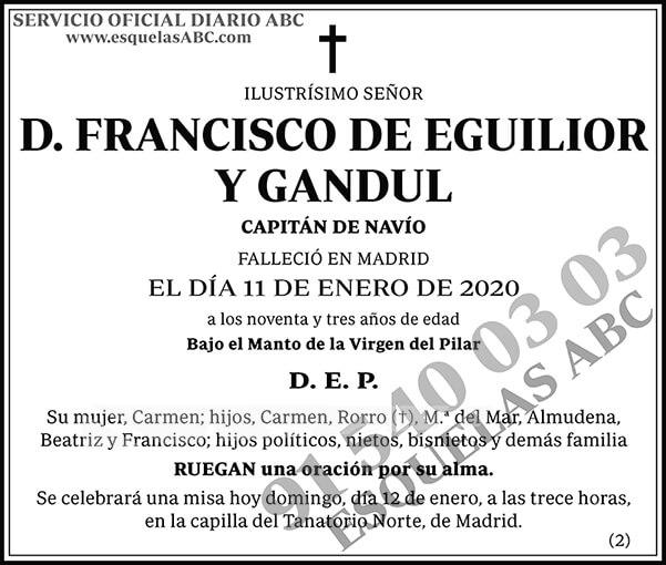 Francisco de Eguilior y Gandul