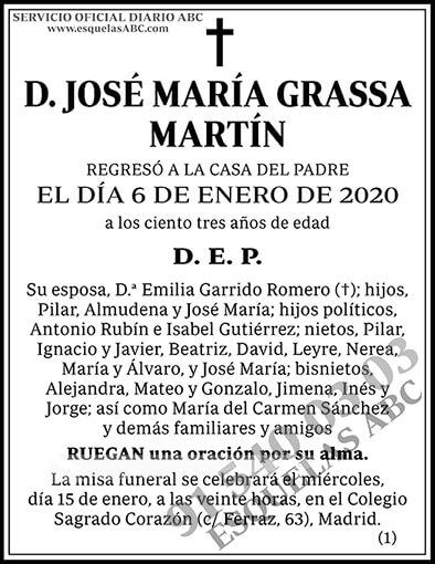 José María Grassa Martín