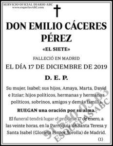 Emilio Cáceres Pérez