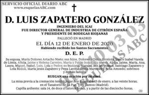 Luis Zapatero González