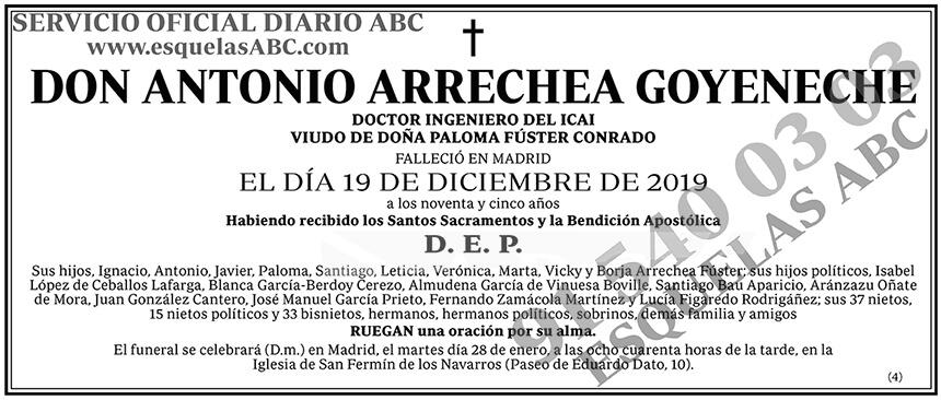 Antonio Arrechea Goyeneche