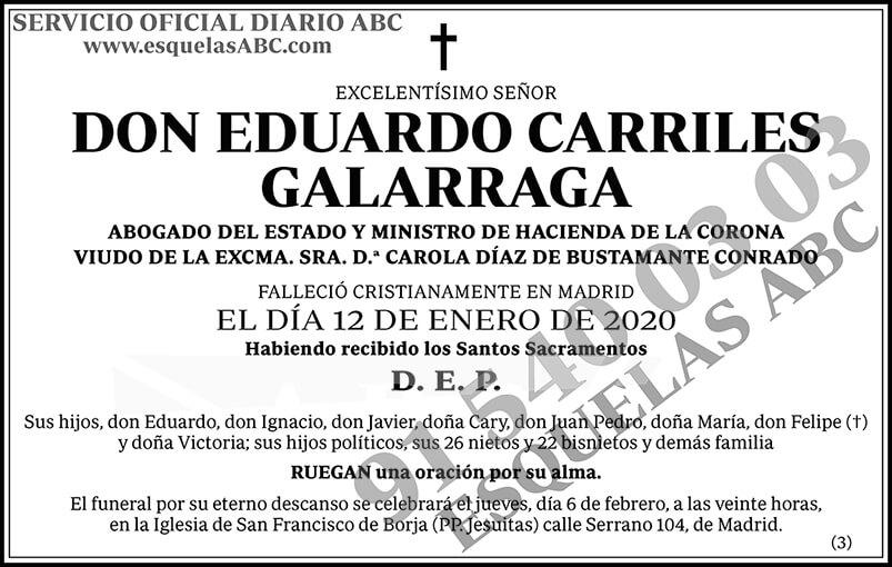 Eduardo Carriles Galarraga