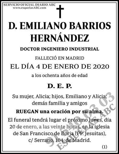 Emiliano Barrios Hernández