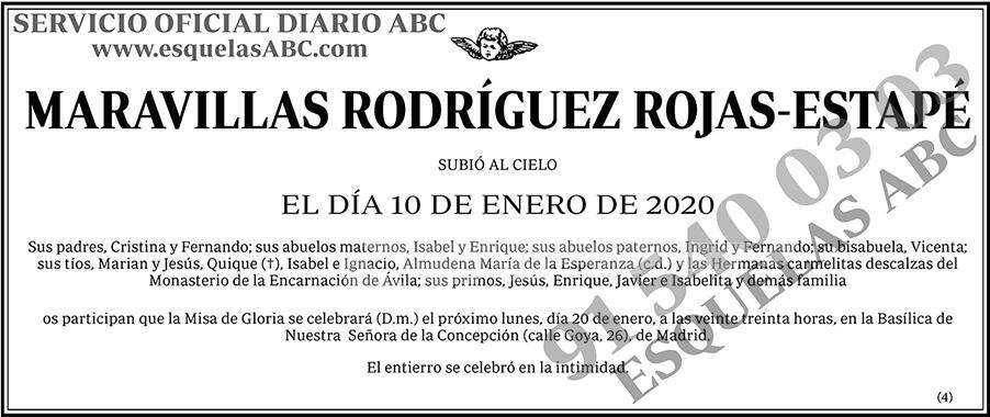Maravillas Rodríguez Rojas-Estapé