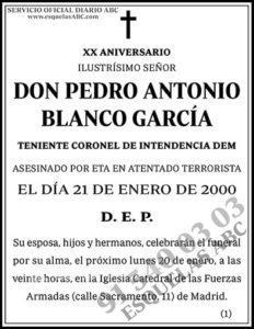 Pedro Antonio Blanco García