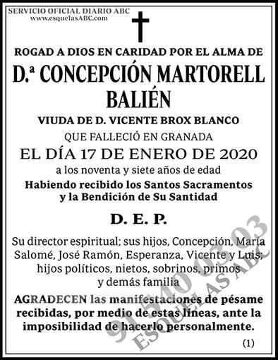 Concepción Martorell Bailén