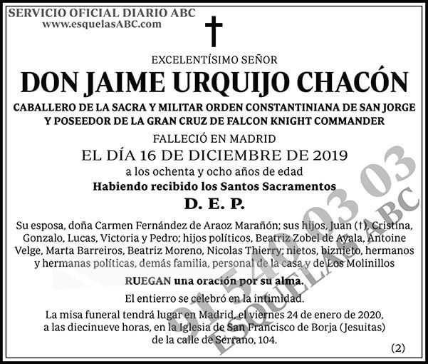 Jaime Urquijo Chacón