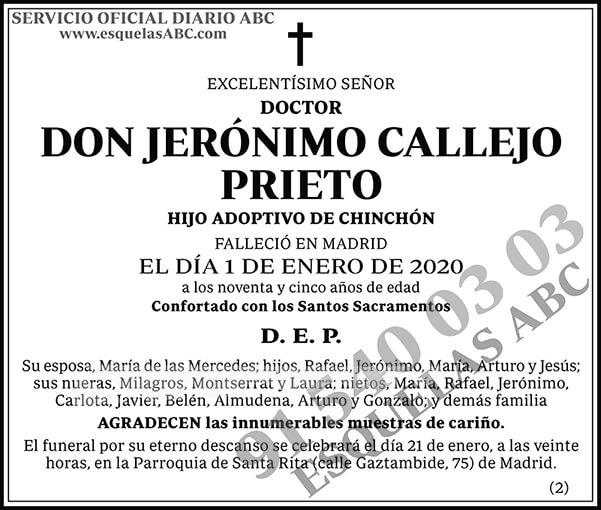 Jerónimo Callejo Prieto