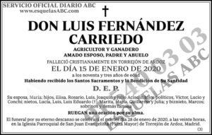 Luis Fernández Carriedo