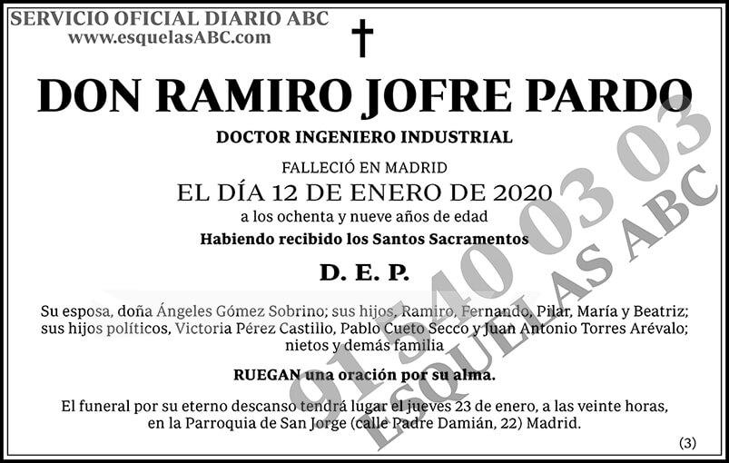 Ramiro Jofre Pardo