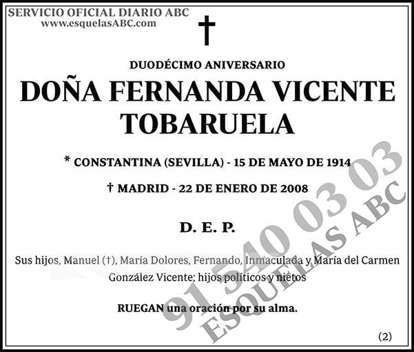 Fernanda Vicente Tobaruela