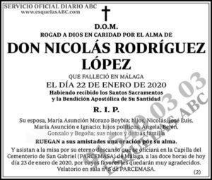Nicolás Rodríguez López