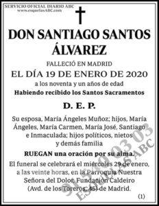 Santiago Santos Álvarez