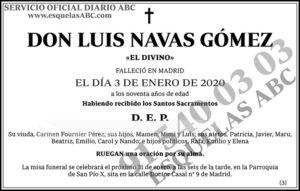 Luis Navas Gómez