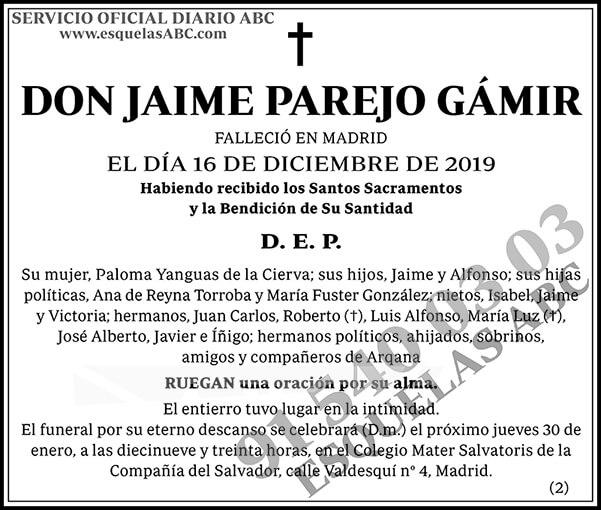 Jaime Parejo Gámir