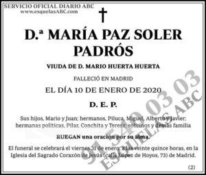 María Paz Soler Padrós