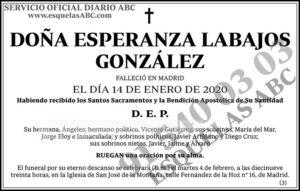 Esperanza Labajos González