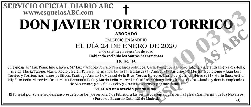 Javier Torrico Torrico