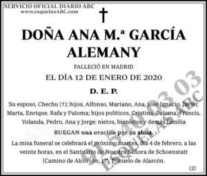 Ana M.ª García Alemany