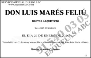Luis Marés Feliú
