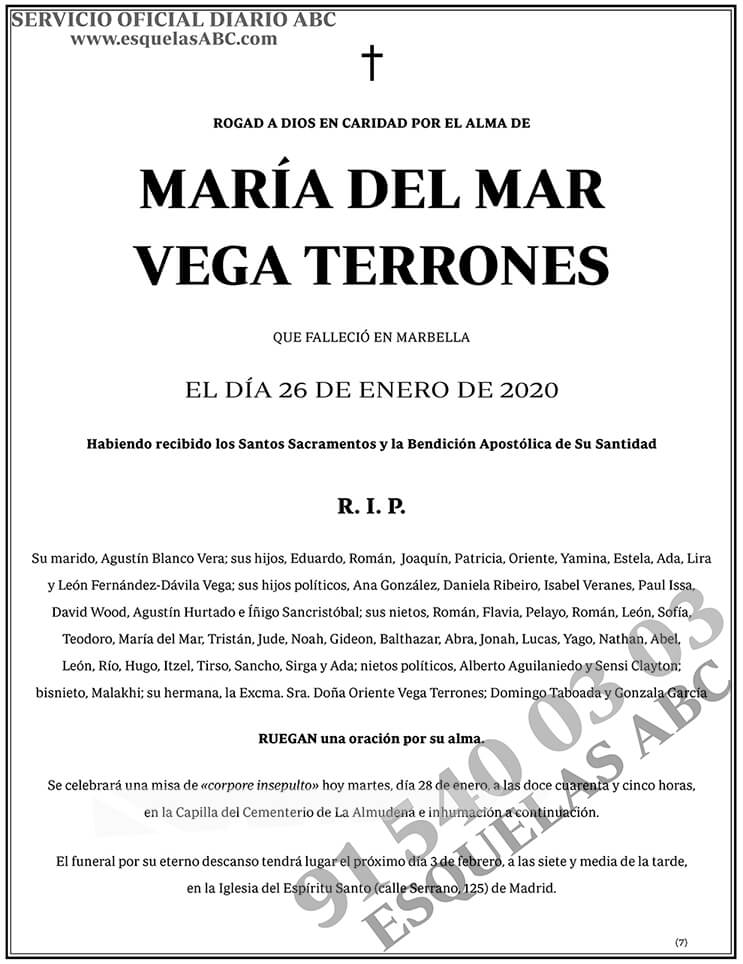María del Mar Vega Terrones