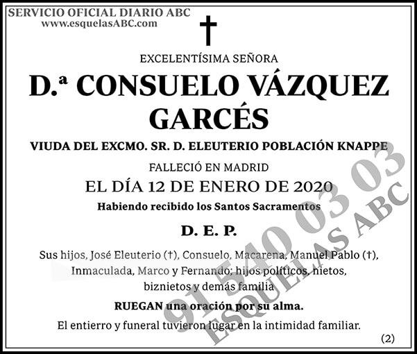 Consuelo Vázquez Garcés