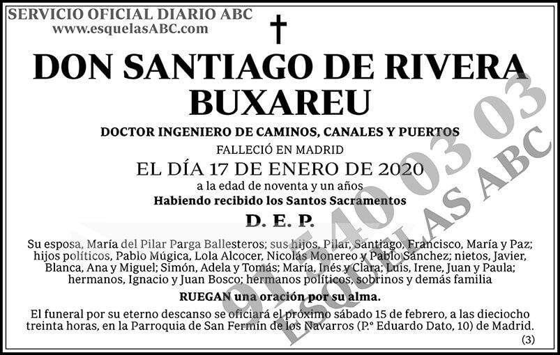 Santiago de Rivera Buxareu