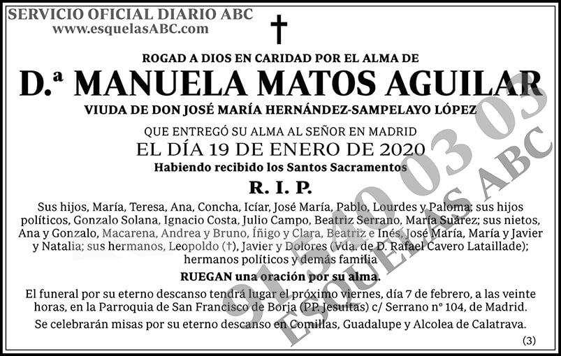 Manuela Matos Aguilar