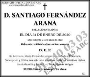 Santiago Fernández Arana