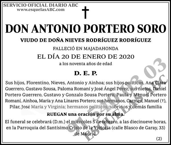 Antonio Portero Soro