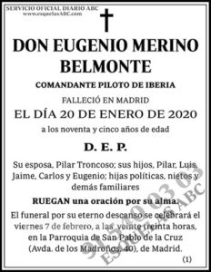 Eugenio Merino Belmonte