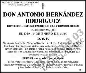 Antonio Hernández Rodríguez