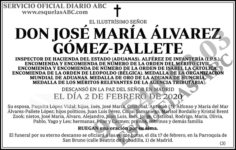 José María Álvarez Gómez-Pallete