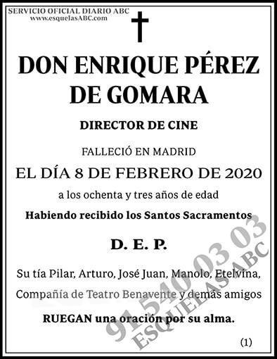 Enrique Pérez de Gomara