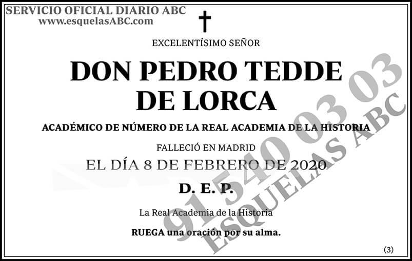 Pedro Tedde de Lorca