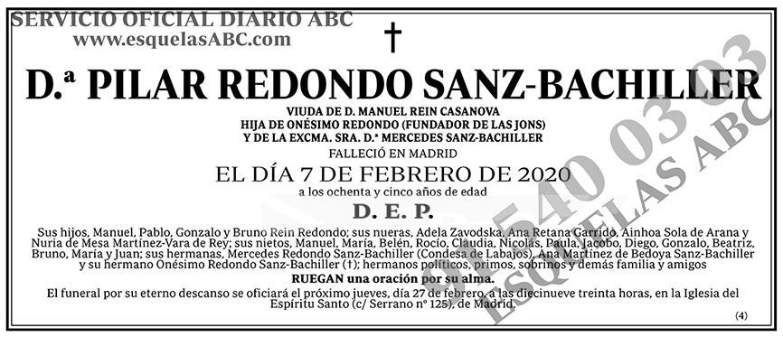 Pilar Redondo Sanz-Bachiller