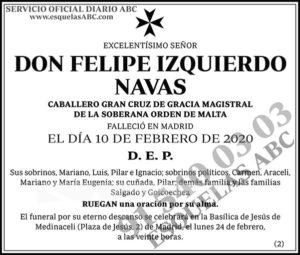 Felipe Izquierdo Navas