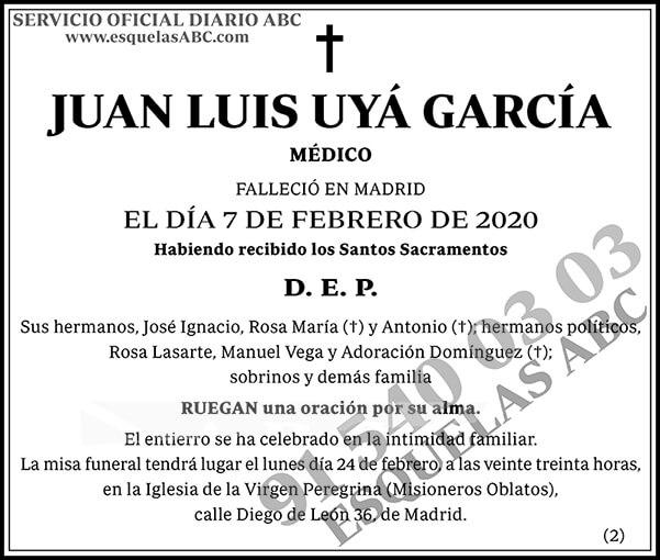 Juan Luis Uyá García