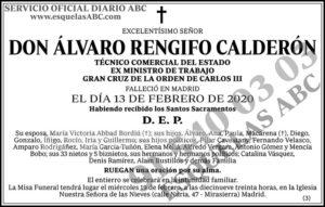 Álvaro Rengifo Calderón