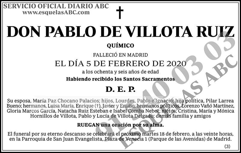 Pablo de Villota Ruiz
