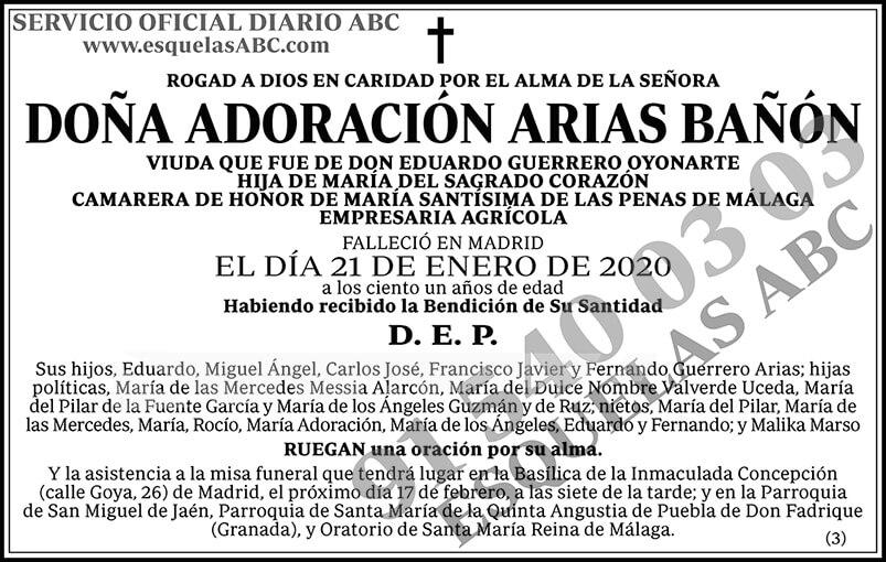 Adoración Arias Bañón