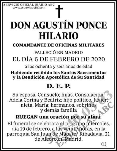 Agustín Ponce Hilario