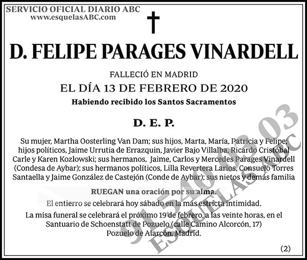 Felipe Parages Vinardell