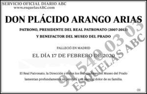 Plácido Arango Arias