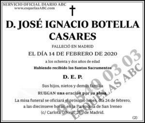 José Ignacio Botella Casares