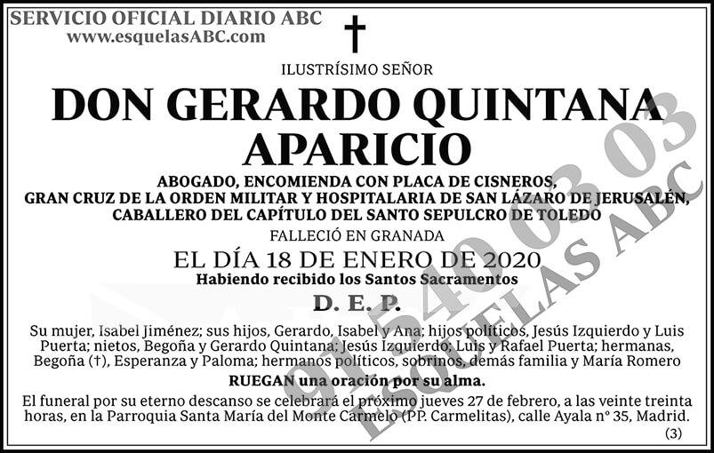 Gerardo Quintana Aparicio